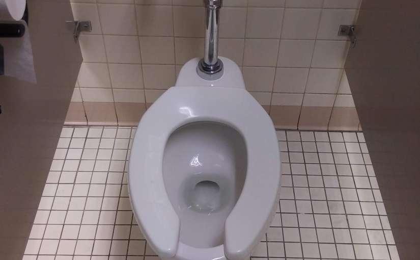 Flush when using publictoilets.